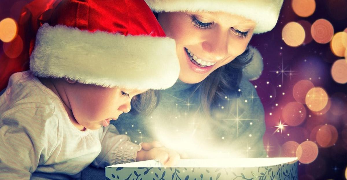 Il Natale è magia, è lo stupore negli occhi dei bambini.